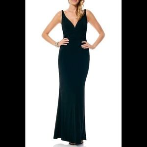 Laundry Full Length Ruched Formal Gown